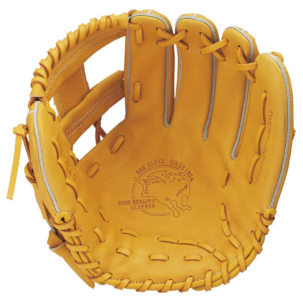 【送料無料】 SSK (エスエスケイ) 野球 ソフトボールグローブ一般 ソフトオールラウンドヨウグラブ L ライトオレンジ SSS7040 ORG L