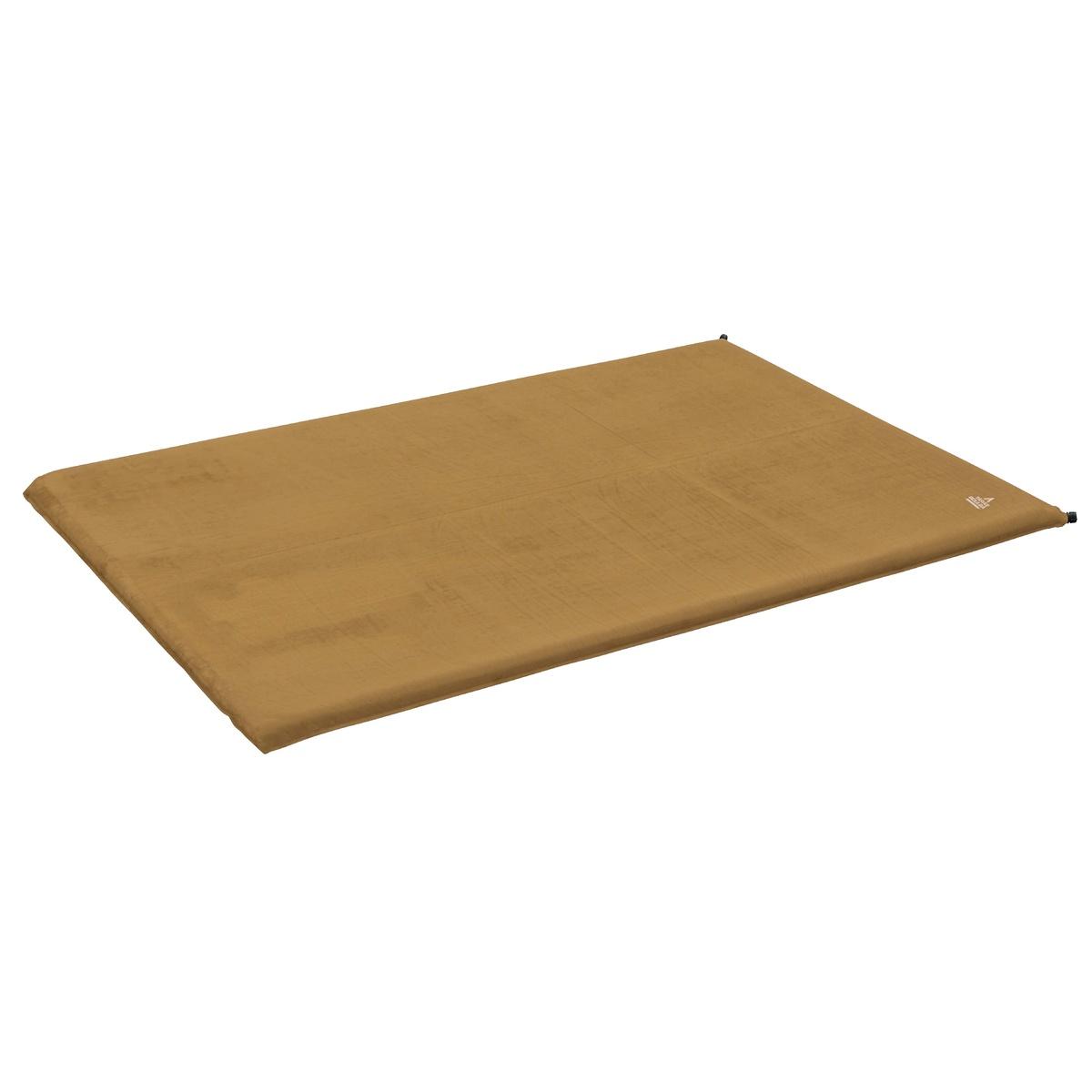BOULBA(タラスブルバ) コンフォートインフレータブルマットW TARAS コヨーテブラウン TB-S19-015-029 スリーピングバッグアクセサリー キャンプ用品 寝袋