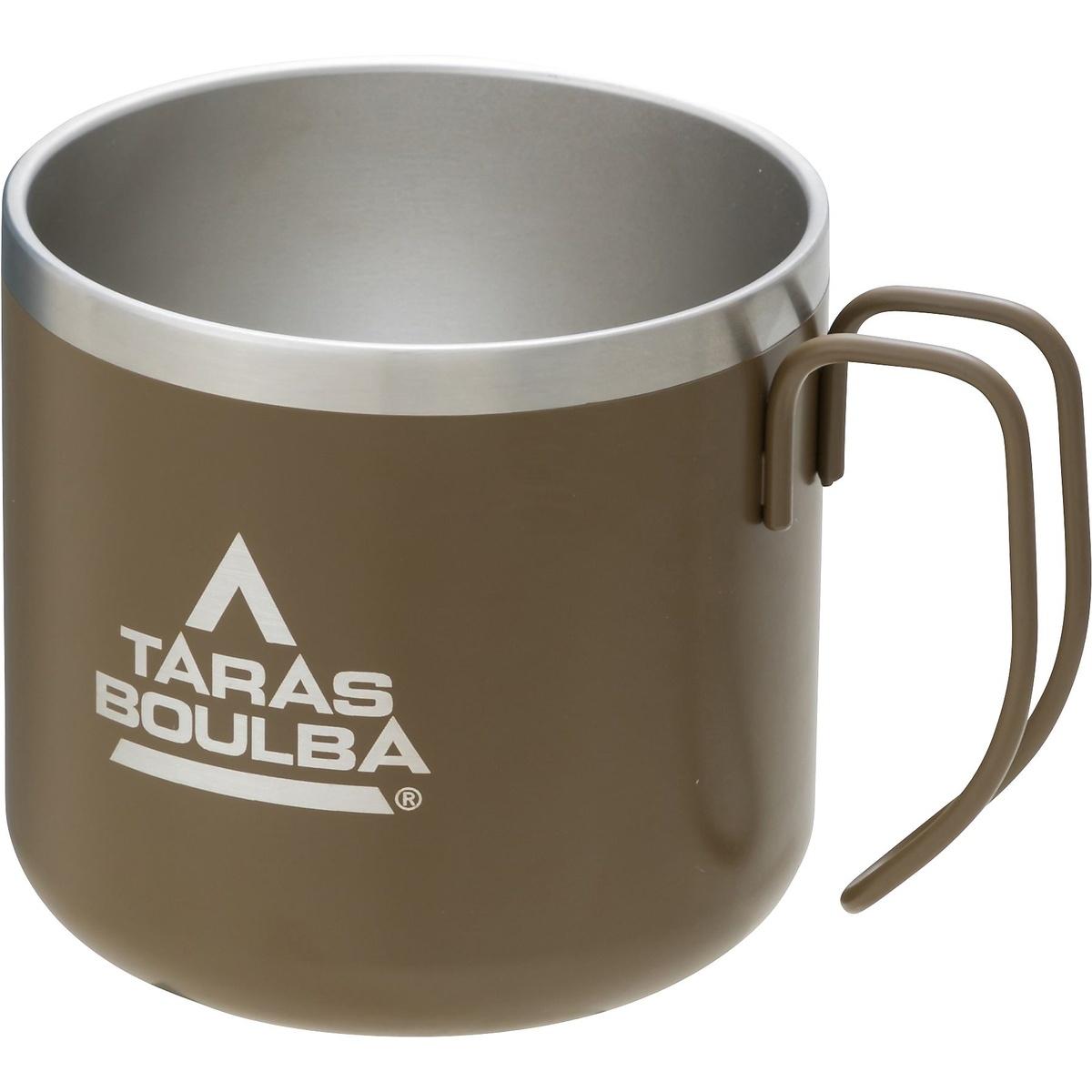 タラスブルバ キャンプ用品 クーラーボックス ジャグ タンク TB ダブルステンレスマグカップ KHK 350 TARAS TB-S19-015-053 定番 BOULBA カーキ 新作入荷