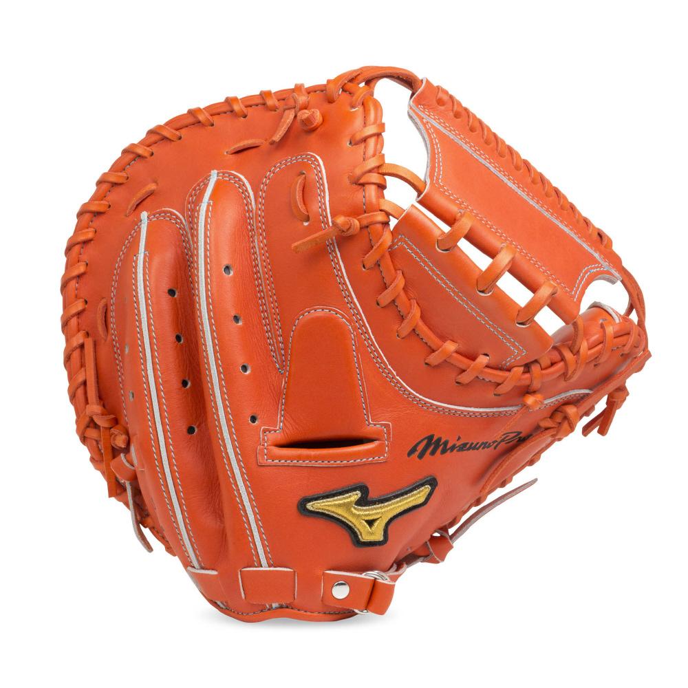 【送料無料】 MIZUNO (ミズノ) 野球 硬式ミット コウシキMP B メンズ スプレンディッドオレンジ 1AJCH20200 52