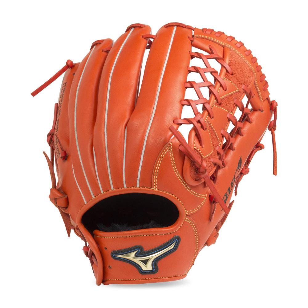【送料無料】 MIZUNO (ミズノ) 野球 軟式グローブ一般 ナンシキNB セレクト9 メンズ スプレンディッドオレンジ 1AJGR20807 52