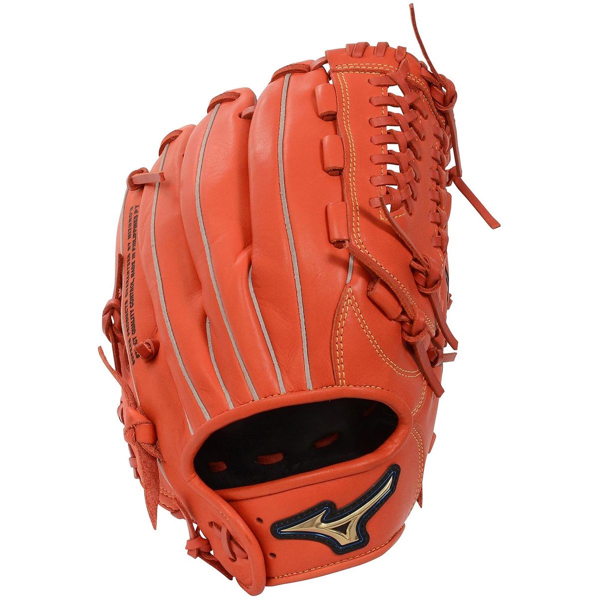 【送料無料】 MIZUNO (ミズノ) 野球 ソフトボールグローブ一般 ソフトボールNB セレクト9 メンズ スプレンディッドオレンジ 1AJGS20610 52