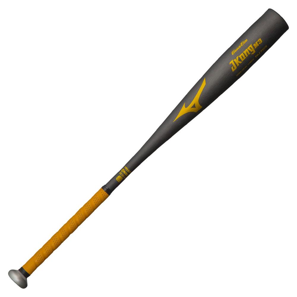 【送料無料】 MIZUNO (ミズノ) 野球 硬式メタルバッド GE JKONG M3 メンズ ブラック 1CJMH61282 09