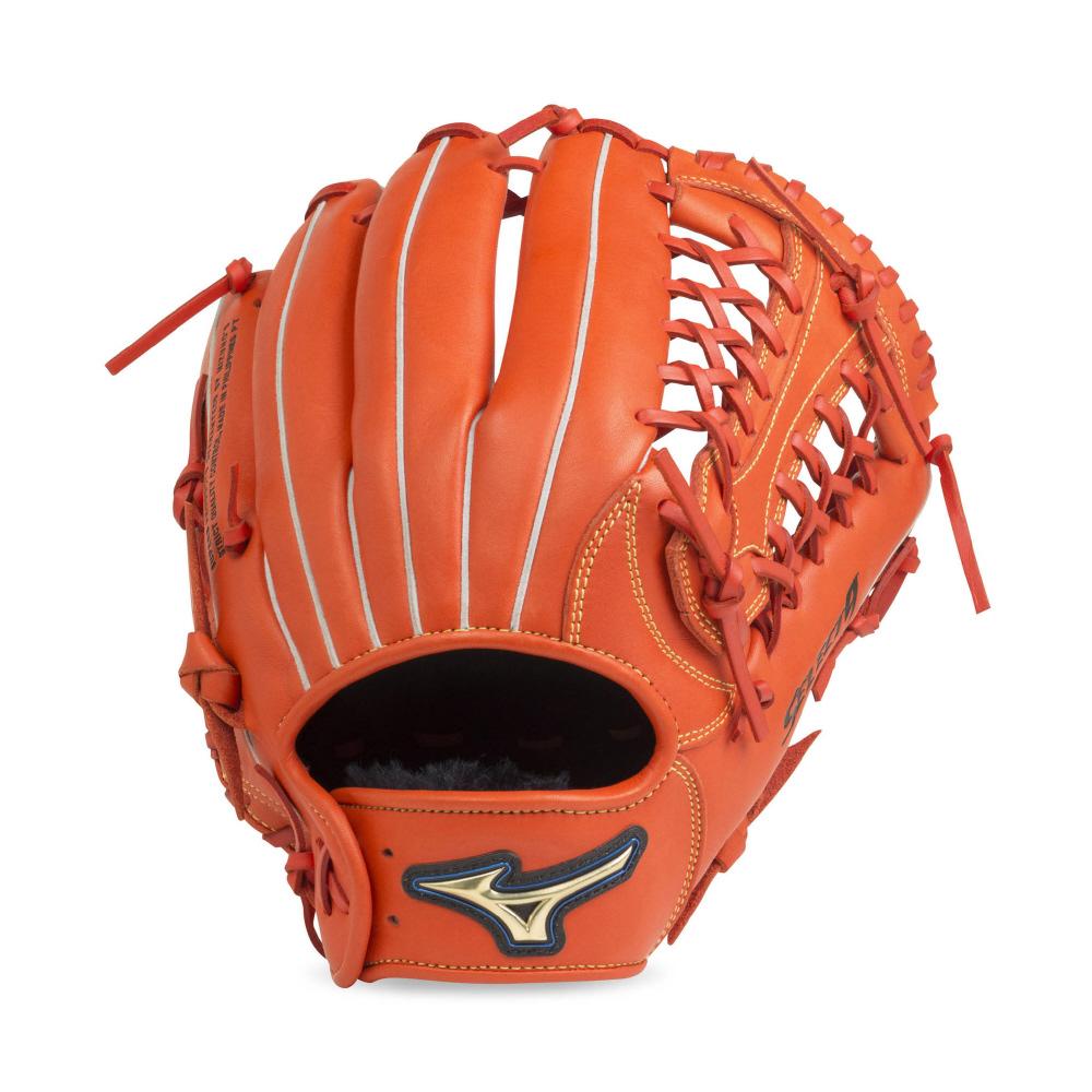 【送料無料】 MIZUNO (ミズノ) 野球 ソフトボールグローブ一般 ソフトボール セレクト9 スプレンディッドオレンジ 1AJGS20630 52
