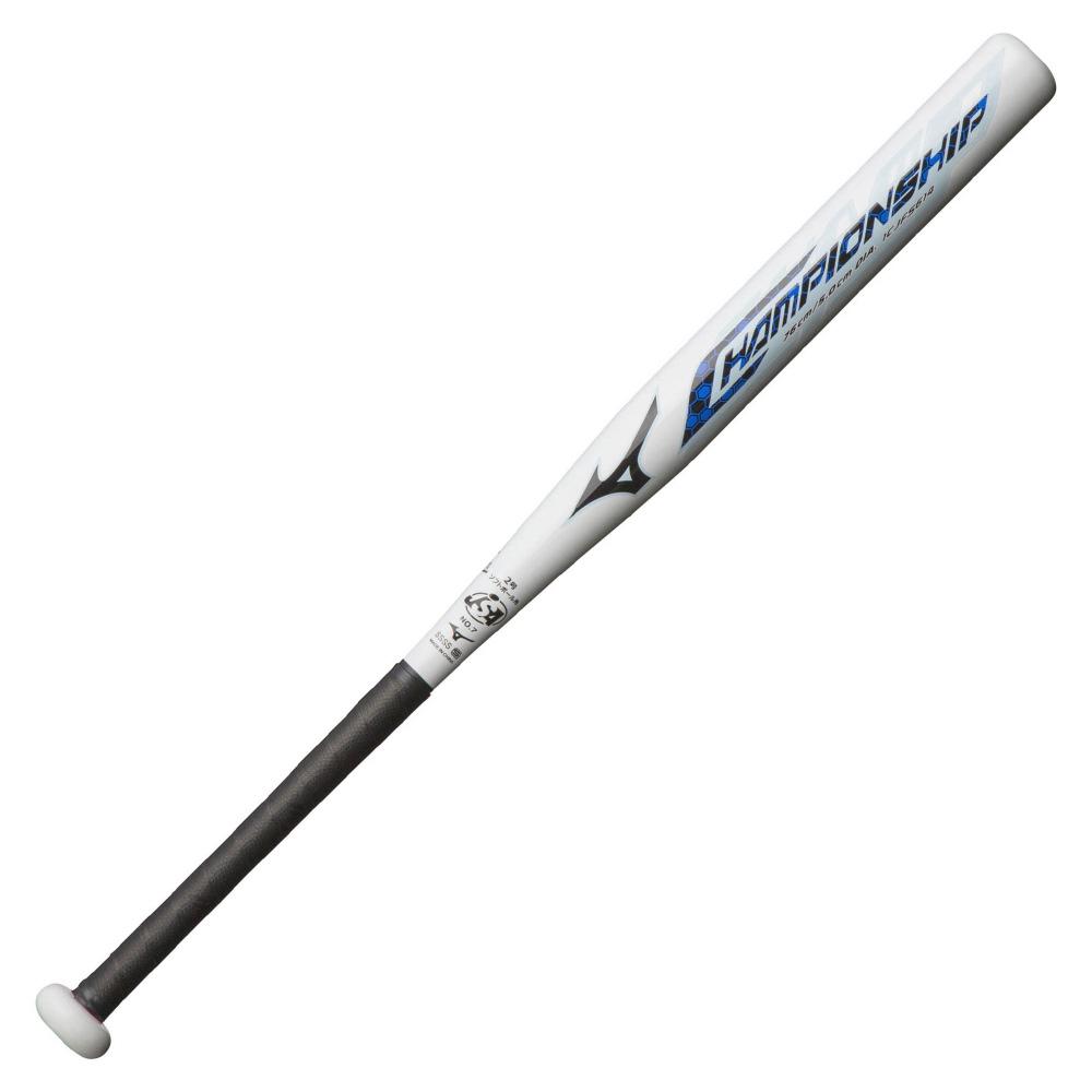 【送料無料】 MIZUNO (ミズノ) 野球 少年ソフトボールバッド CHAMPIONSHIP ボーイズ ホワイト 1CJFS61476 01
