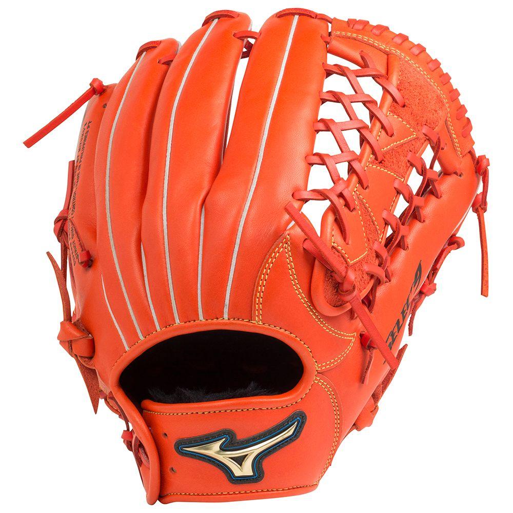【送料無料】 MIZUNO (ミズノ) 野球 左利き一般グローブ ナンシキNB セレクト9 メンズ スプレンディッドオレンジ 1AJGR20807 52H
