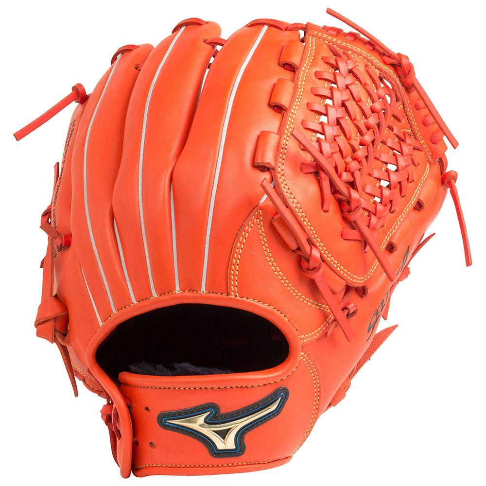 【送料無料】 MIZUNO (ミズノ) 野球 左利き一般グローブ ナンシキNB セレクト9 メンズ スプレンディッドオレンジ 1AJGR20810 52H