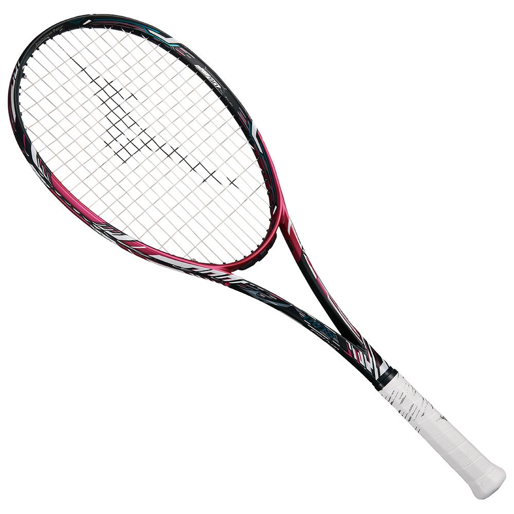 【送料無料】 MIZUNO (ミズノ) 【フレームのみ】ソフトテニス フレームラケット DIOS 50-C(ディオス50シー) ソリッドブラック×ネオマゼンタ 63JTN96664