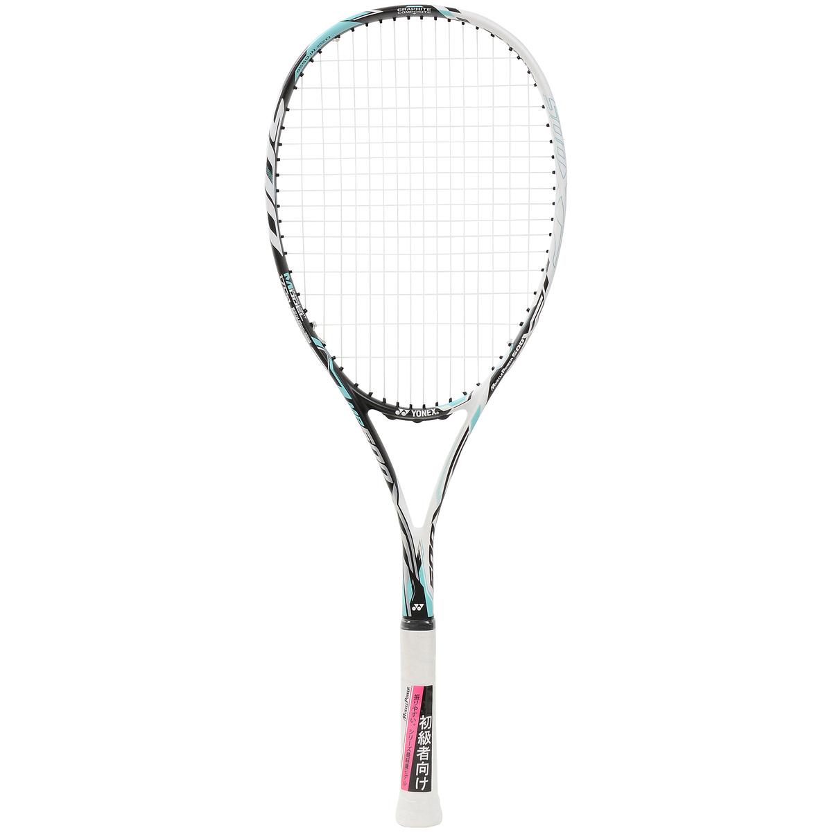【送料無料】 YONEX (ヨネックス) ソフトテニス 張り上げラケット マッスルパワー500XF G0 ホワイト/ミント MP500XFG 551