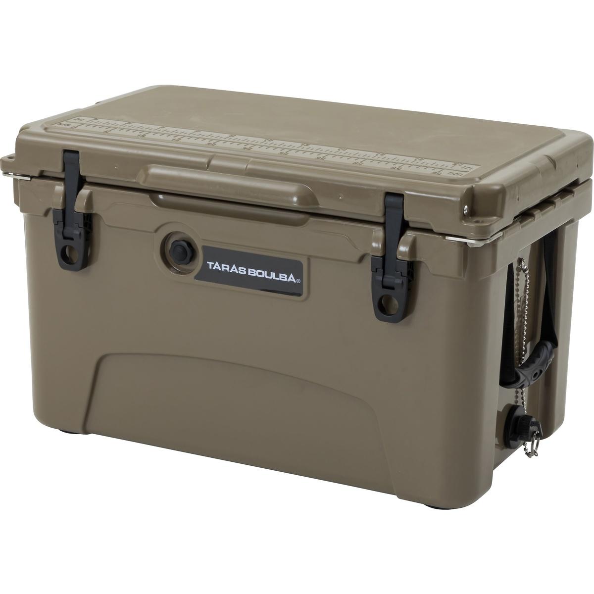 【送料無料】 TARAS BOULBA(タラスブルバ) キャンプ用品 ハードクーラー30L以上 TBクーラーBOX 42L カーキ TB-S19-015-037