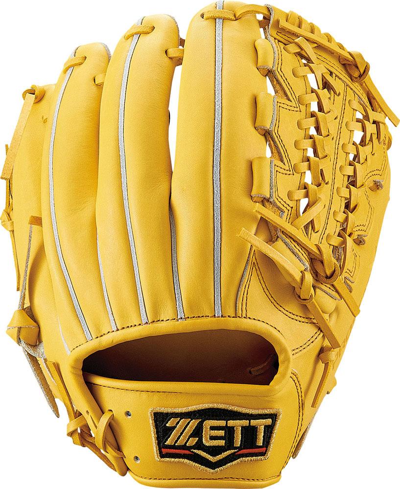 【送料無料】 ZETT (ゼット) 野球 硬式グローブ全般 コウシキグラブ(プロステイタス)1901 LH トゥルーイエロー5400 BPROG450-5400LH