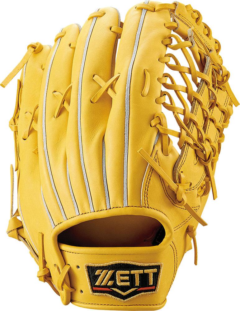 【送料無料】 ZETT (ゼット) 野球 硬式グローブ全般 コウシキグラブ(プロステイタス)1901 LH トゥルーイエロー5400 BPROG670-5400LH