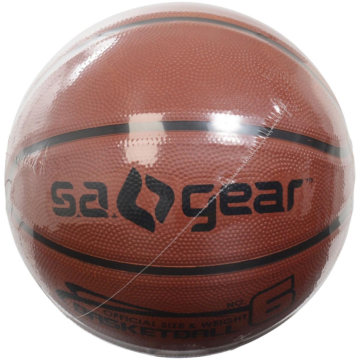 エスエーギア バスケットボール 6号ボール バスケットボールBRN 出荷 6ゴウ s.a.gear SA-Y19-003-045 ブラウン 春の新作続々