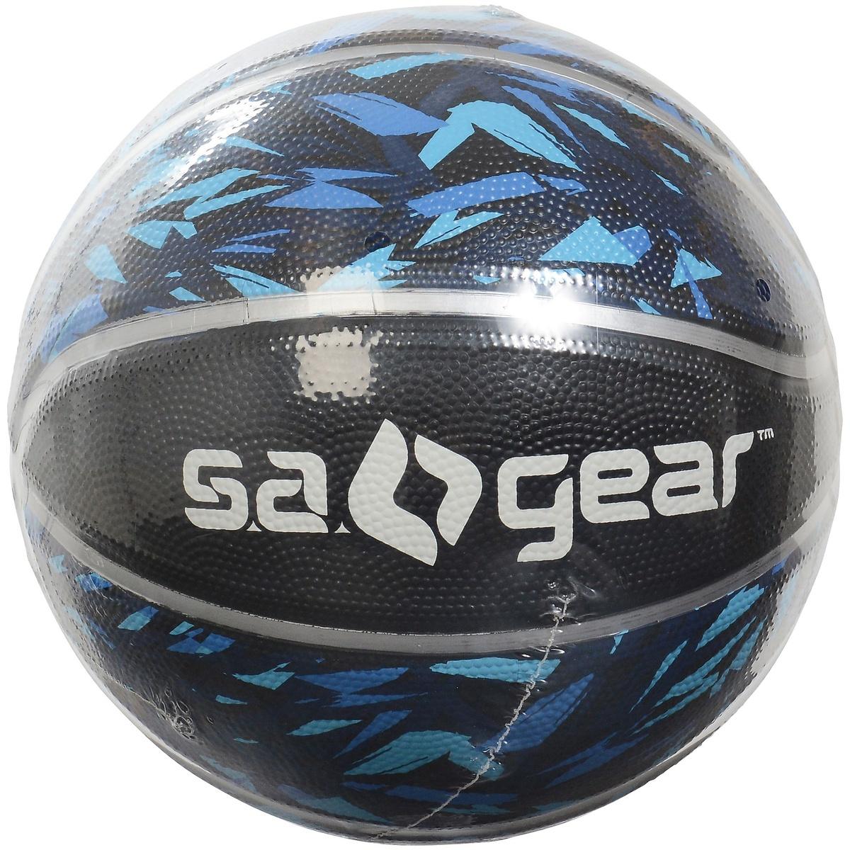エスエーギア バスケットボール 割引も実施中 5号ボール カラーバスケットボールBLU 定番キャンバス ブルー s.a.gear SA-Y19-003-048 5ゴウ