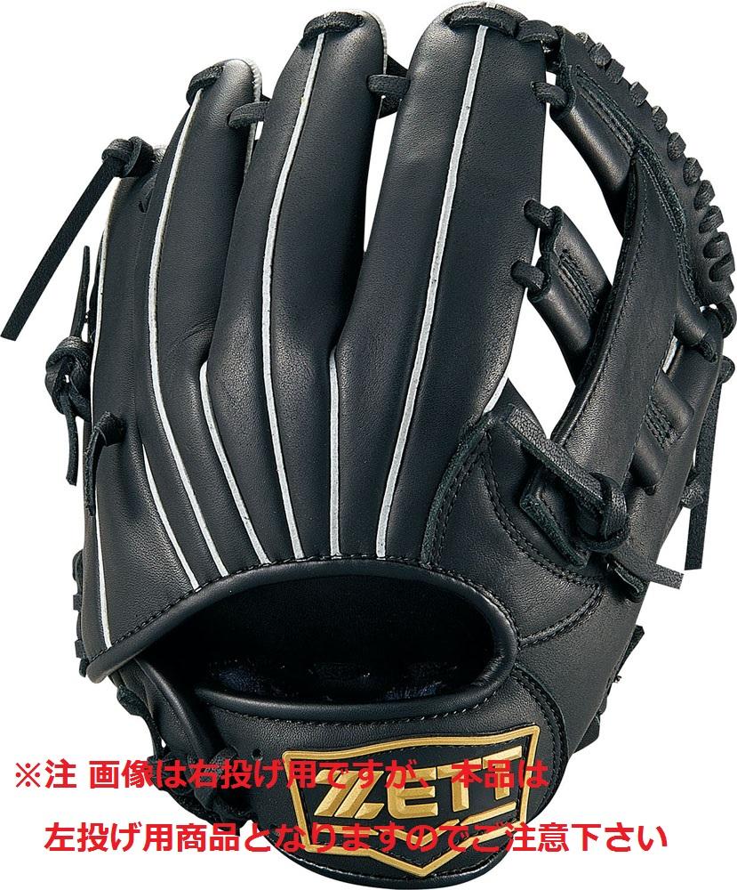 【送料無料】 ZETT (ゼット) 野球 左利き少年グローブ グランドメイト 【左投げ用】 ジュニア RH ブラック1900 BJGB76920-1900RH