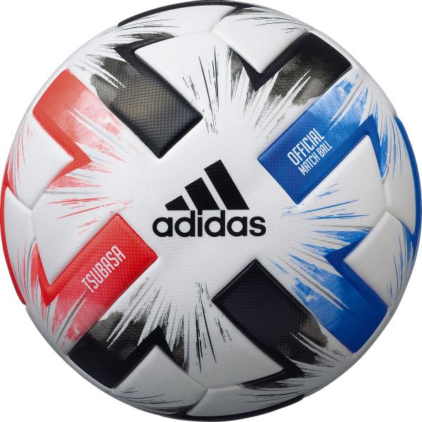 【送料無料】 adidas (アディダス) サッカー ボール ツバサ 試合球 5号球 ホワイト AF510