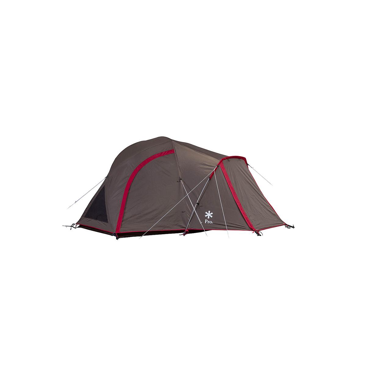 ● 【送料無料】 Snow Peak (スノーピーク) キャンプ用品 ファミリーテント ランドブリーズPRO.1 BRN SD-641
