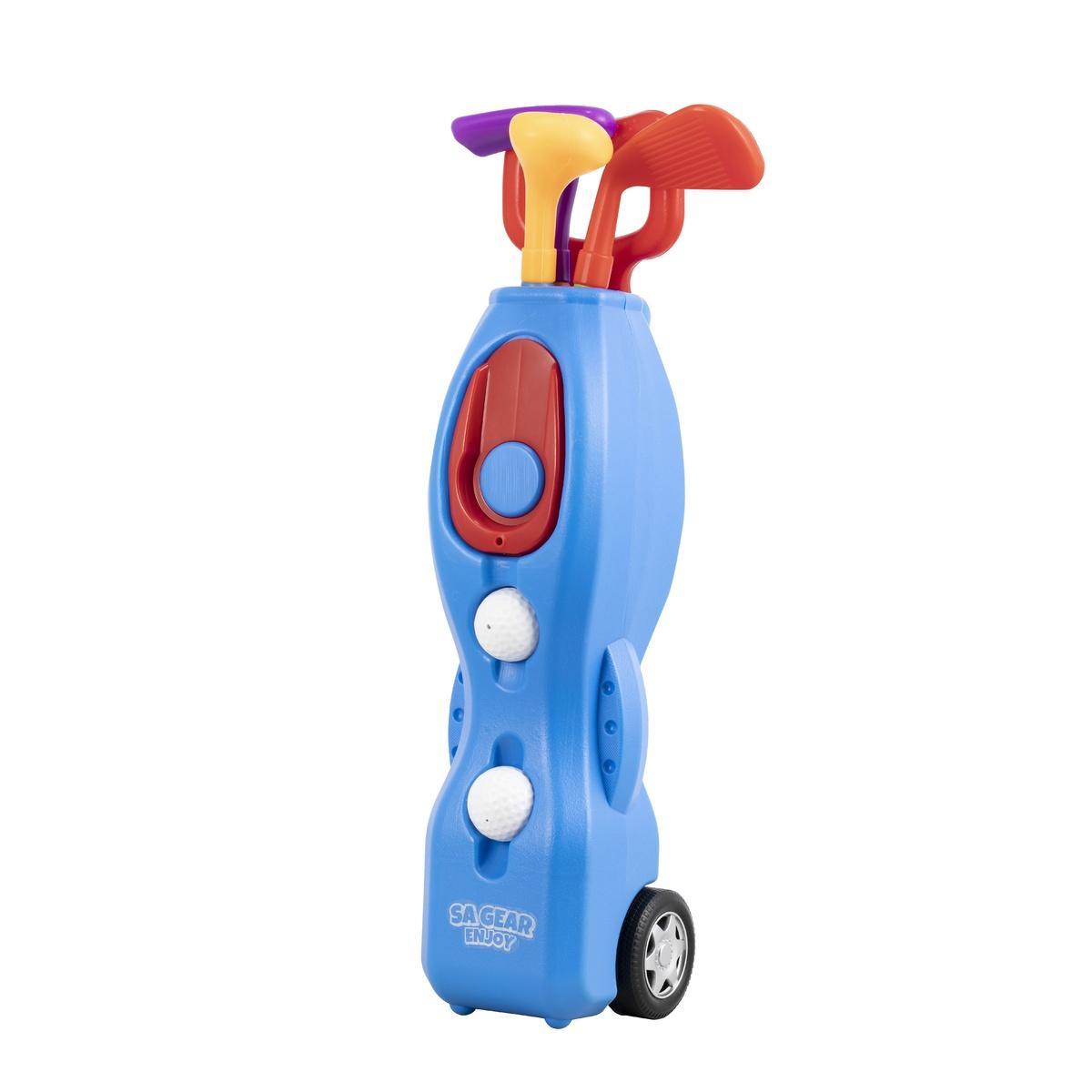 エスエーギア その他競技 メーカー在庫限り品 体育器具 インドアゲーム s.a.gear SA-Y19-003-080 ゴルフセット 割引も実施中