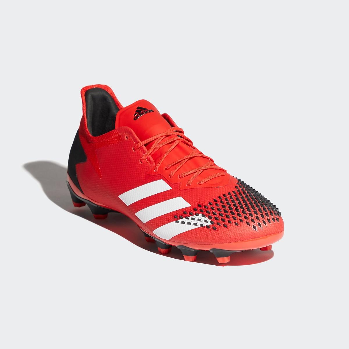 ● 【送料無料】 adidas (アディダス) サッカー スパイク プレデター 20.2 HG/AG メンズ アクティブレッド/フットウェアホワイト/コアブラック KXM34 FV3198