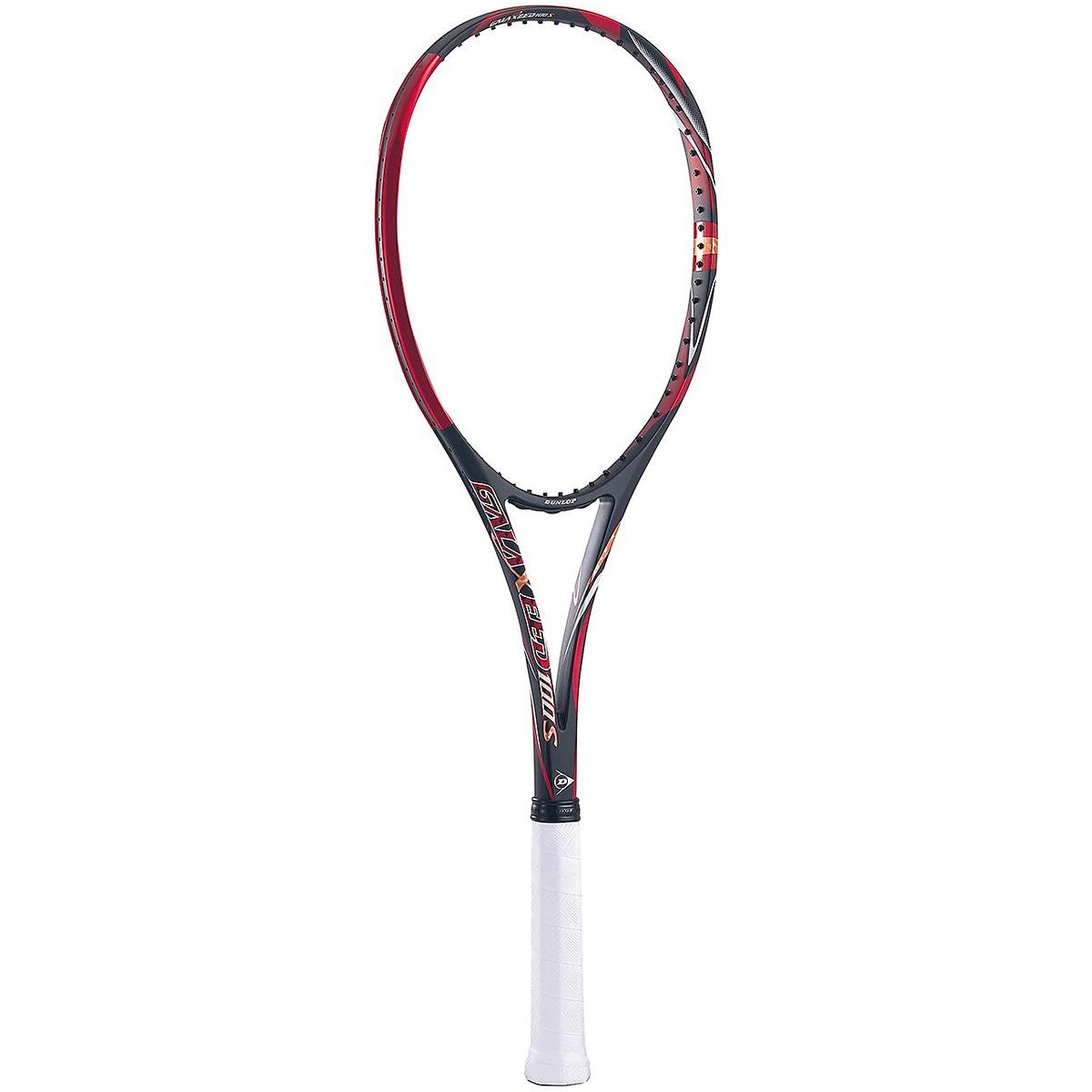 【送料無料】 DUNLOP (ダンロップ) 【フレームのみ】ソフトテニス フレームラケット 19 DUNLOP GALAXEED 100S USL1 BLK/RED DS41900