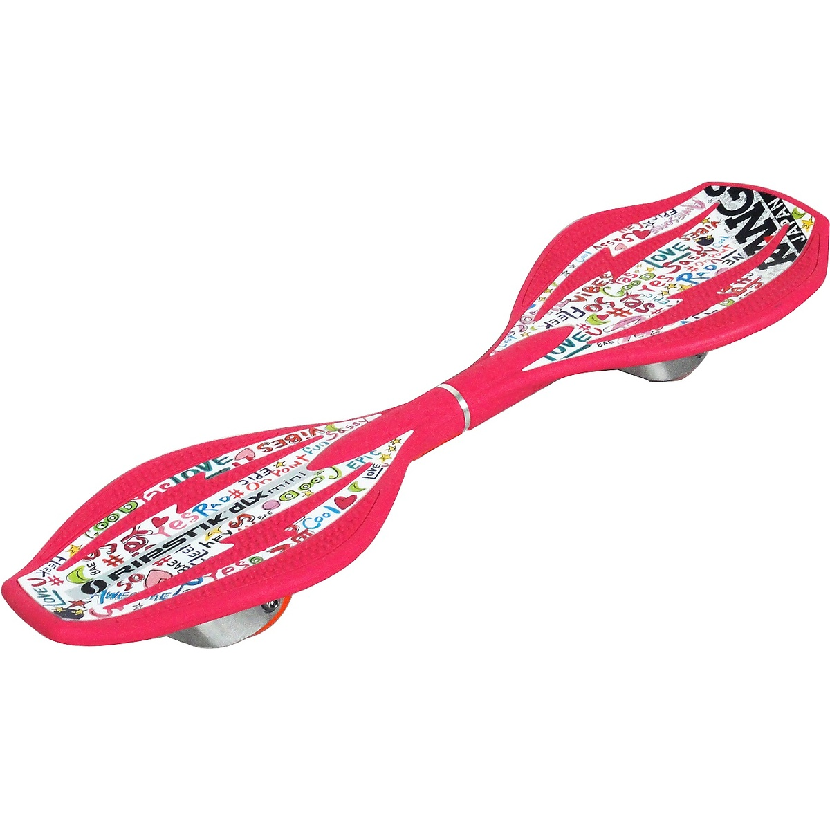 【送料無料】 ホイール エクストリーム スケートボード リップスティックDLXミニ ジュニア ネオンピンク リップスティックDLXミニ