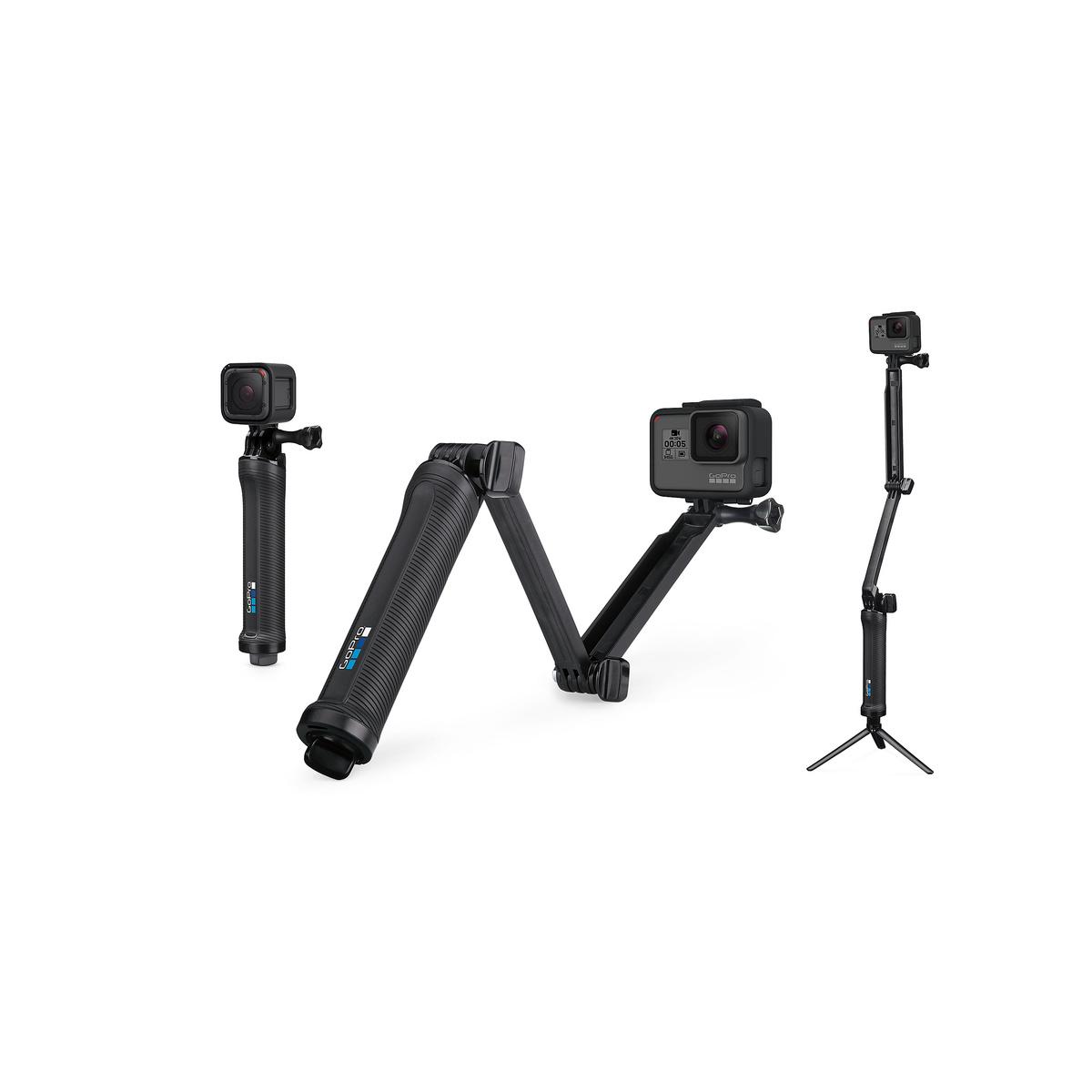 【送料無料】 GoPro(ゴープロ) キャンプ用品 キャンピングアクセサリー GoPro 3-WAY AFAEM-001