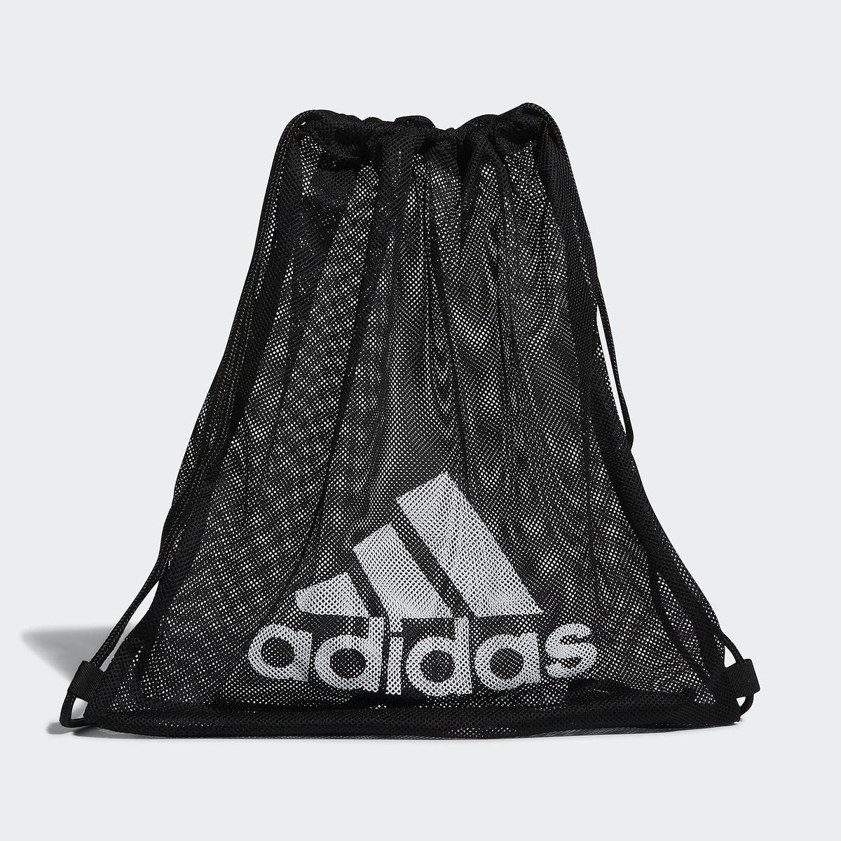 アディダス スポーツアクセサリー ナップサック メッシュジムバグ adidas adidas (アディダス) メッシュジムバグ スポーツアクセサリー ナップサック NS ブラック/ホワイト 29739 GL7429