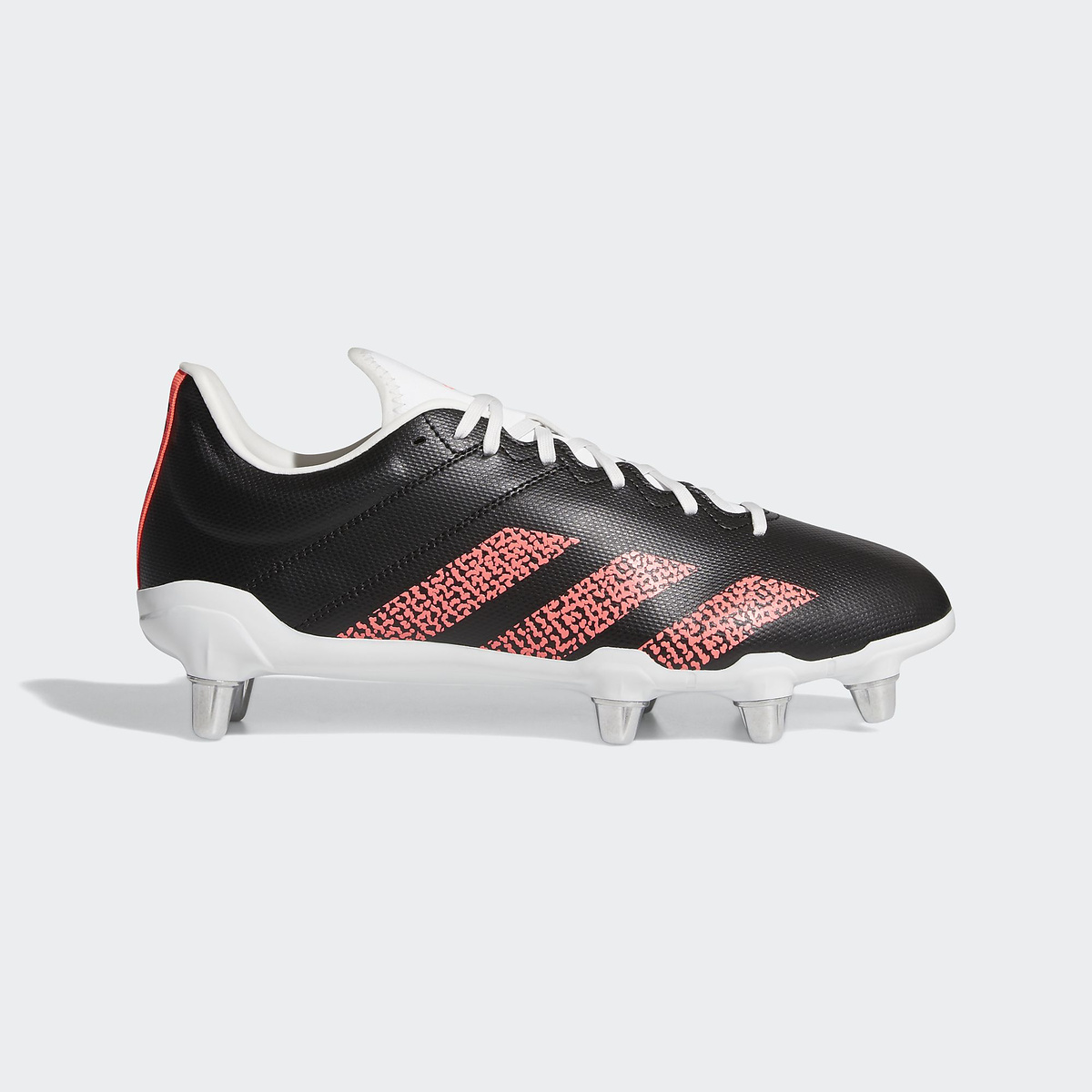 adidas (アディダス) KAKARI (SG) その他競技 体育器具 ラグビー メンズ コアブラック/シグナルピンク/クリスタルホワイト JQ137 FU8195
