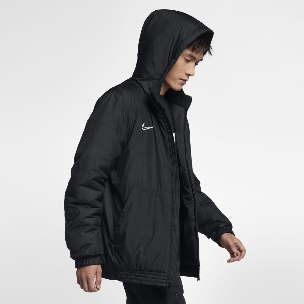 ナイキ 買物 サッカー コート DRI-FIT お歳暮 アカデミー19 SDF HD AO1501-010 NIKE ホワイト ブラック メンズ ジャケット