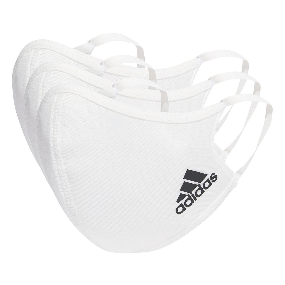 アディダス スポーツアクセサリー 雑貨 フェイスカバー 3枚組(XS/S) / Face Covers XS/S 3-Pack adidas ● adidas (アディダス) フェイスカバー 3枚組(XS/S) / Face Covers XS/S 3-Pack スポーツアクセサリー 雑貨 ジュニア NS ホワイト/ブラック JMC44 H34588