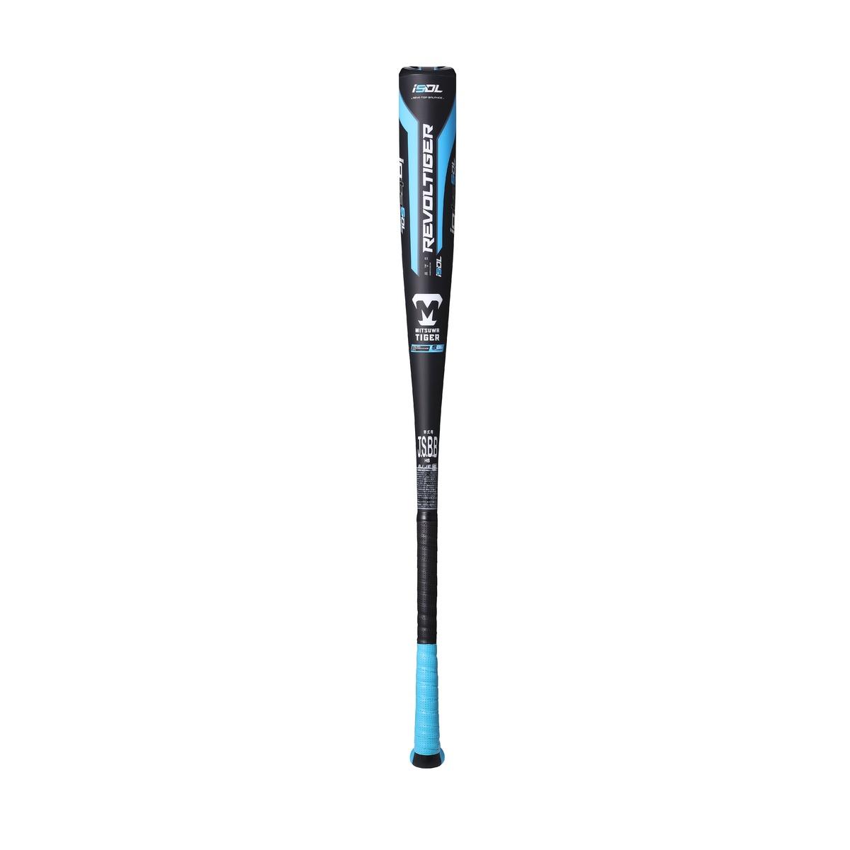 買収 美津和タイガー 野球 最安値 軟式バット 金属 一般軟式IOTA HW-SUPER DL TIGER RBRPUHSD86-210 BLK×BLU MITSUWA