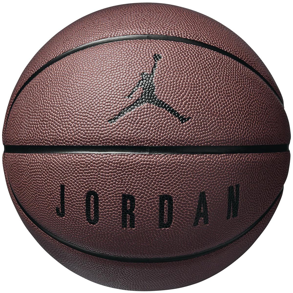 ジョーダンブランド スポーツ フィットネス バスケットボール ボール 7号ボール ジョーダン アルティメット ダークアンバー BRAND 未使用品 ブラック JORDAN 7 8P 公式 JD4004-842