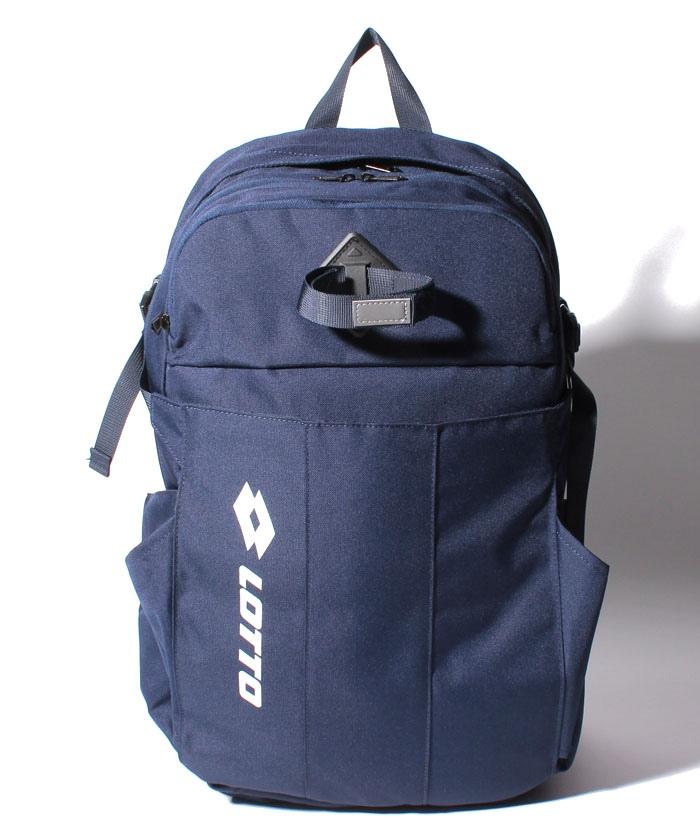 ロット ラケットスポーツ 超激得SALE 新作入荷 バッグ ケース類 テニスラケットバッグパック ネイビー LO-Y20-004-033 LOTTO