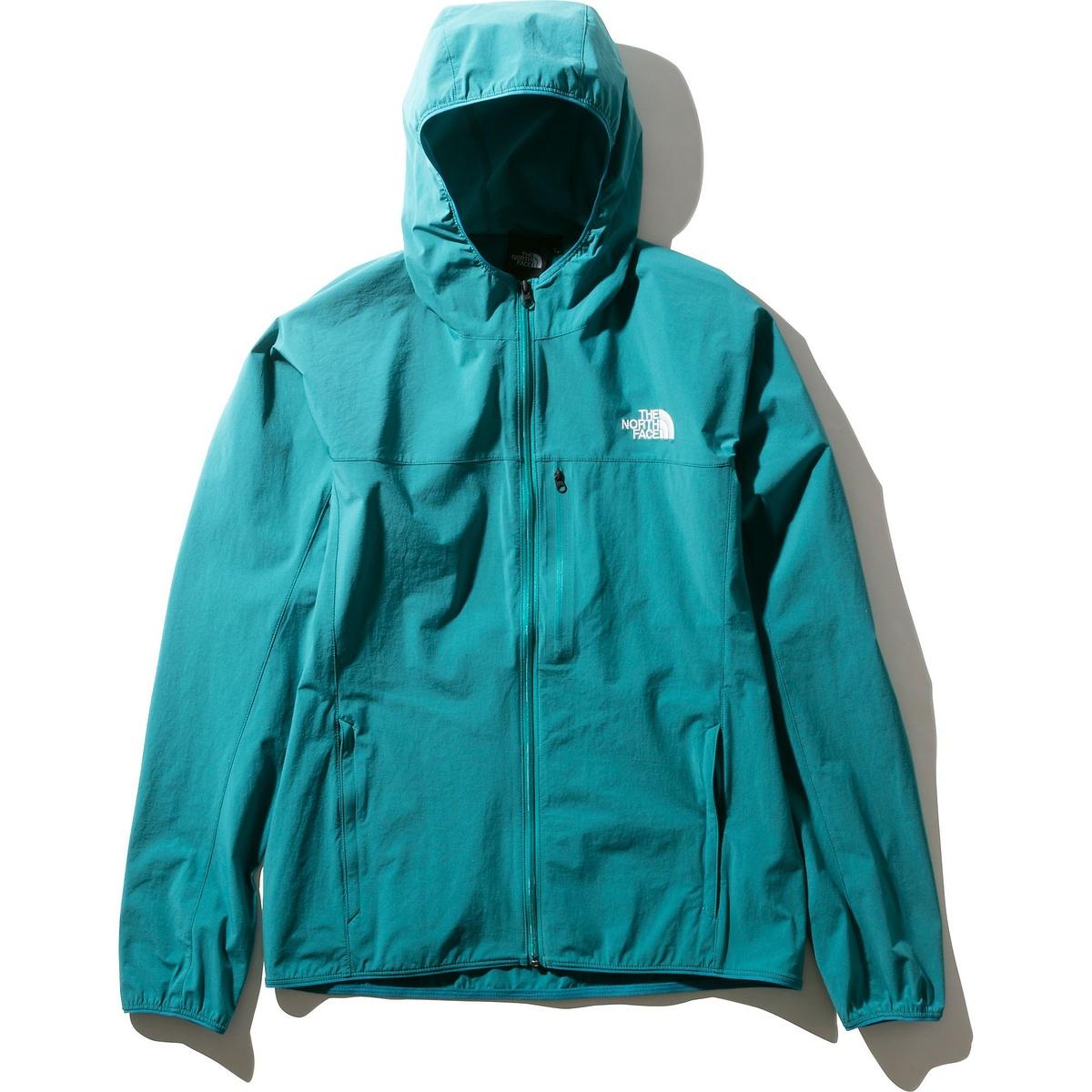 ノースフェイス トレッキング アウトドア マート 薄手ジャケット 新作製品、世界最高品質人気! Mountain Softshell Hoodie NORTH FF マウンテンソフトシェルフーディ FACE メンズ NP21703 THE