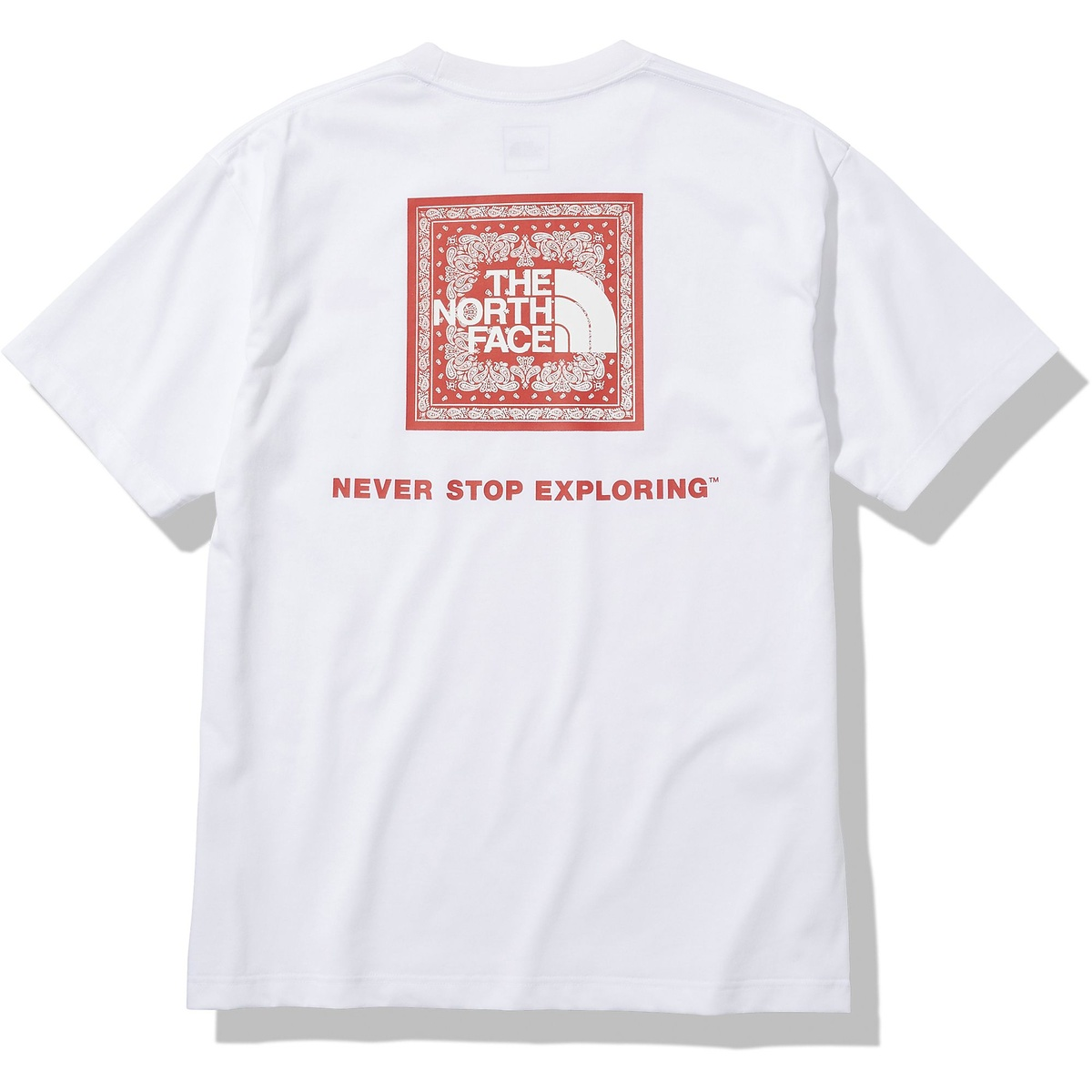 <title>ノースフェイス トレッキング 販売 アウトドア 半袖Tシャツ S Bandana Square Logo Tee ショートスリーブバンダナスクエアロゴティー THE NORTH FACE 半袖Tシャツ メンズ W NT32108</title>