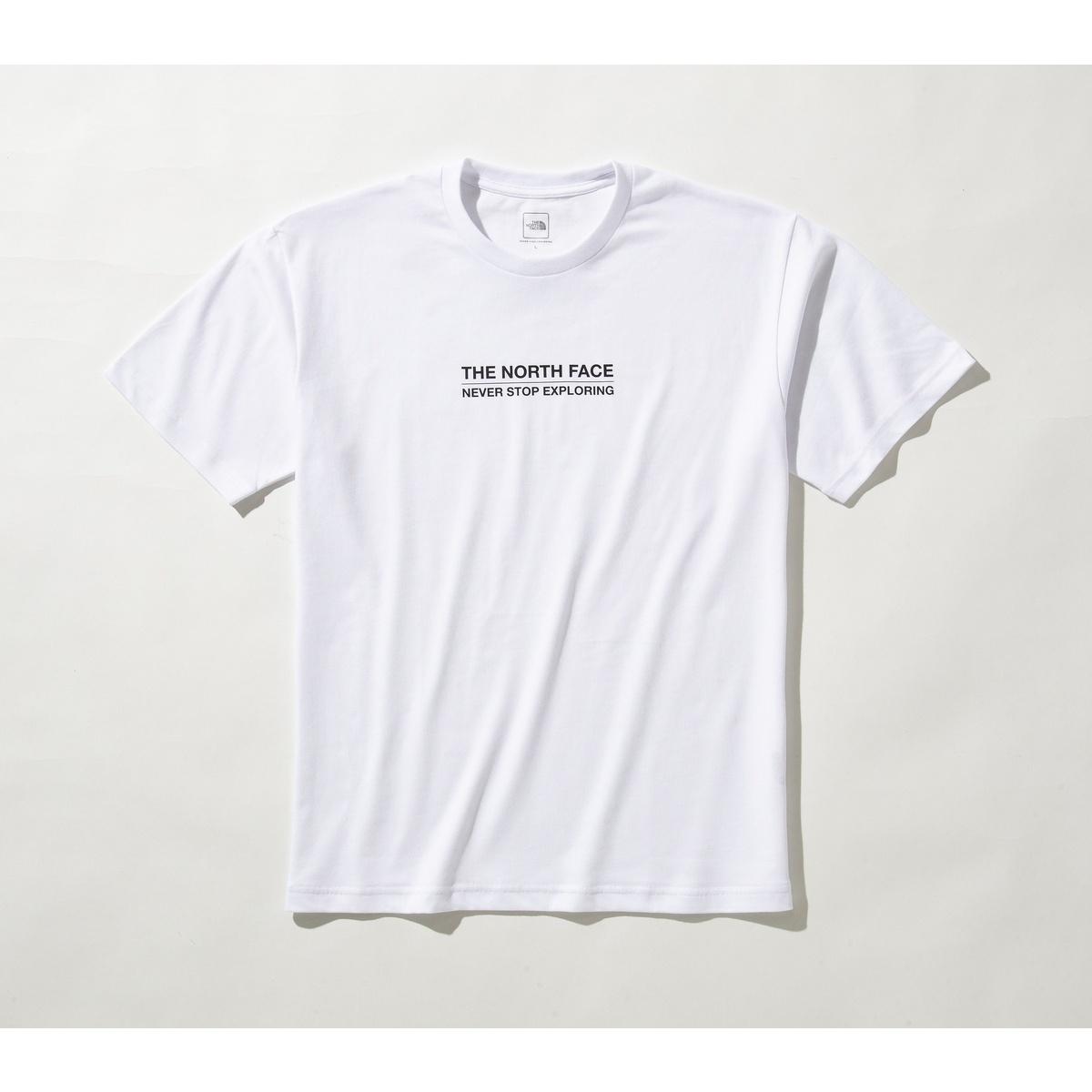 ノースフェイス トレッキング アウトドア 半袖Tシャツ スポーツオーソリティ限定商品 S MESSAGE LOGO TEE W THE メッセージロゴティー ショートスリーブ 半袖Tシャツ 発売モデル 祝日 NT321001A NORTH メンズ FACE