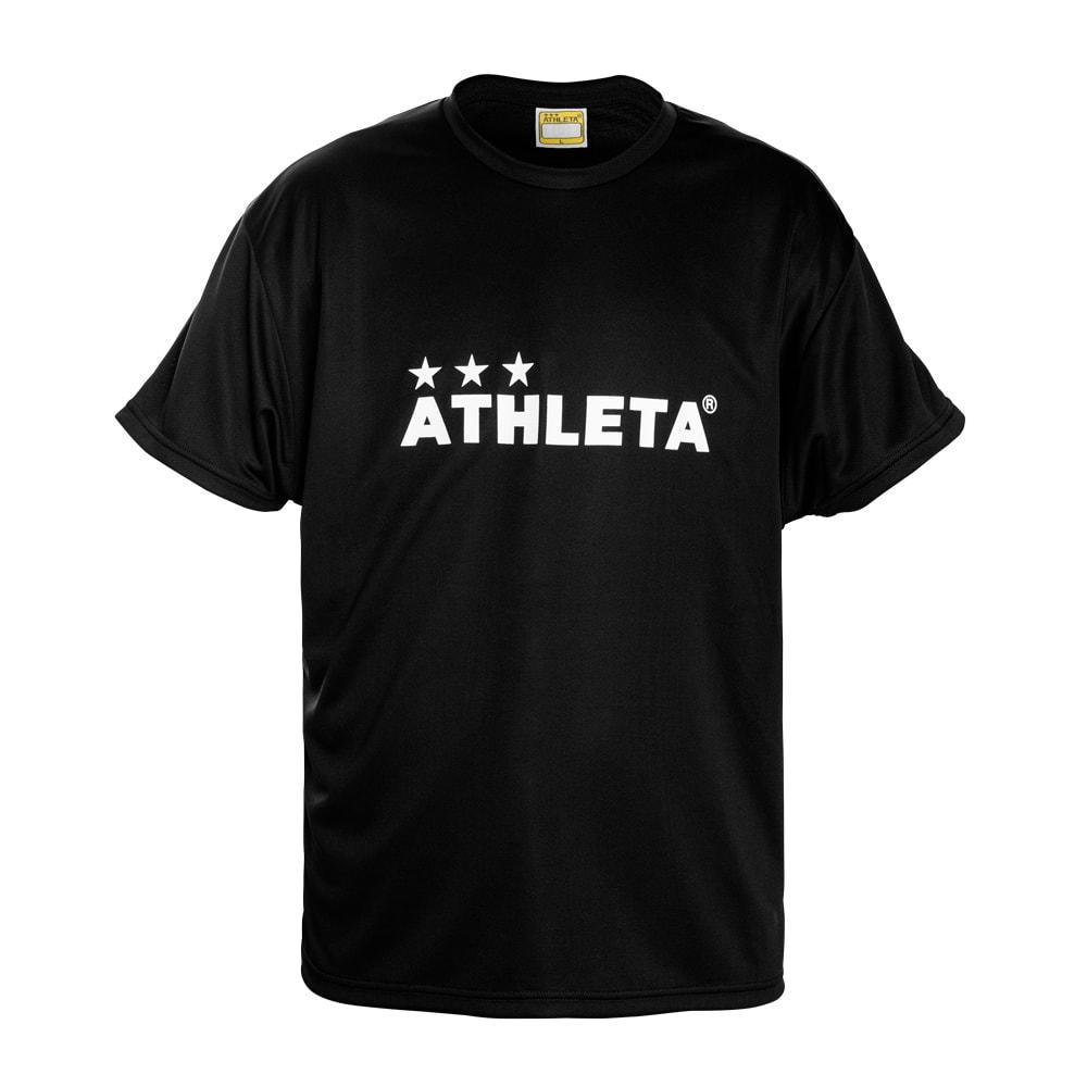 アスレタ サッカー ジュニア半袖プラクティスシャツ JRプラクティスTシャツ ATHLETA BLK 0234JJ 評価 安売り JRプラクティスTシャツ ジュニア