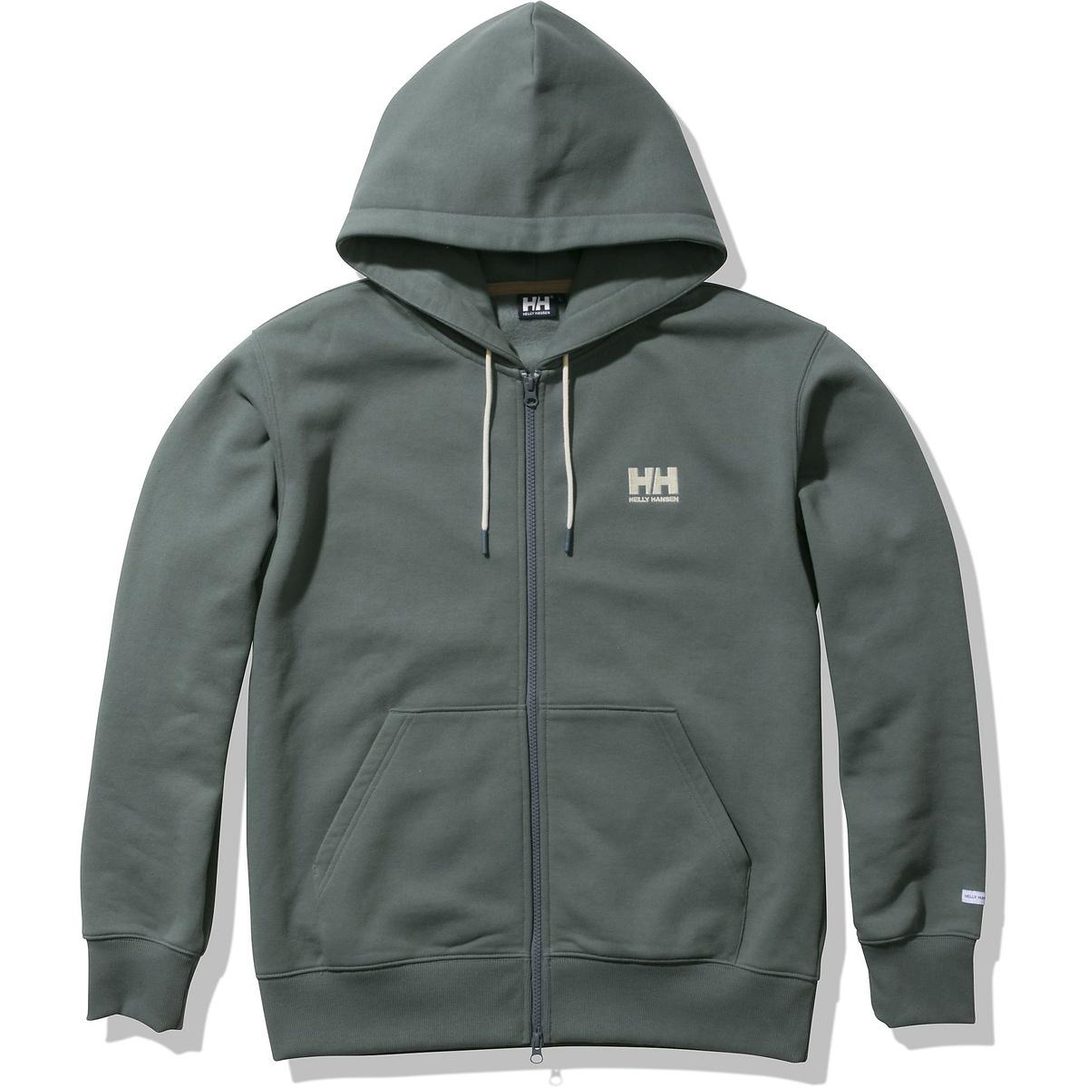 ヘリーハンセン トレッキング 再入荷 マーケティング 予約販売 アウトドア スウェット HH Logo Full-zip HHロゴフルジップスウェットフーディー Sweat FG HELLY HE32160 Hoodie HANSEN