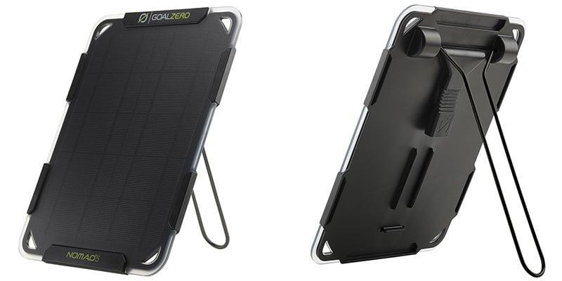 業界No.1 耐久性に優れキックスタンドによる角度調整に対応する小型 安い 軽量のソーラーパネル GOALZERO ゴールゼロ 11500 5 NOMAD