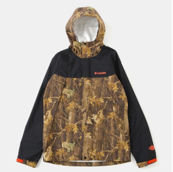 【Columbia】【コロンビア】【PM5352】【Wabash Patterned Jacket】【ワバシュパターンドジャケット】メンズ レインジャケット 防水 アウトドア キャンプ フェス
