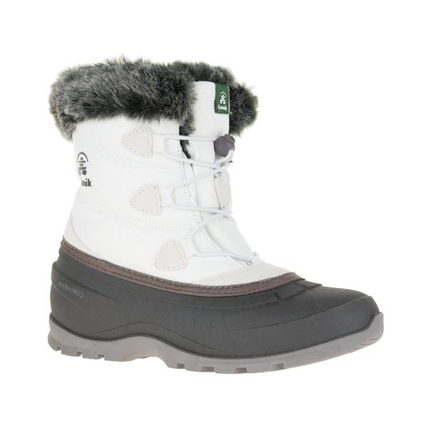 【Kamik】【カミック】【1600482】【スノーブーツ】【モーメンタムロー】レディース 冬靴 防寒 防水