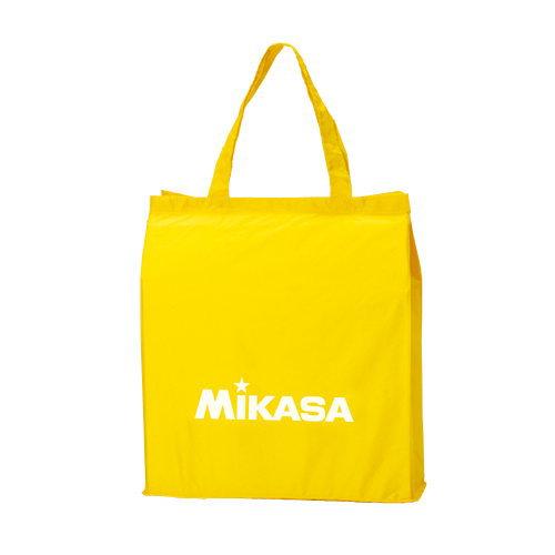 メール便配送 送料無料 ミカサ 当店一番人気 絶品 レジャーバッグ イエロー BA-21 エコバック エコバッグ