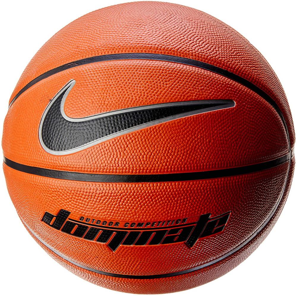 今だけスーパーセール限定 送料無料 ナイキ ゴムバスケットボール5号 ドミネート 新色追加して再販 アンバー 8P あす楽対応 ブラック