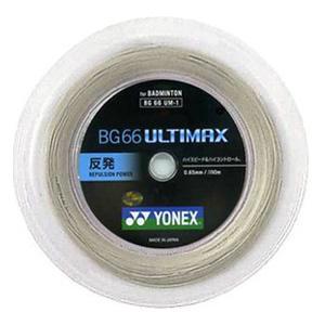 ヨネックス YONEX バドミントンガット・ストリングBG66アルティマックス BG66ULTIMAX【ロール200m】BG66UM-2【バドミントン ガットロール】badminton バトミントン バドミントン 2018SS