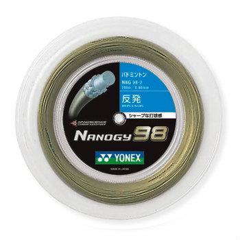 ヨネックス YONEX バドミントンガット・ストリングナノジー98 NANOGY98【ロール200m】【バドミントン ガットロール】badminton バドミントン