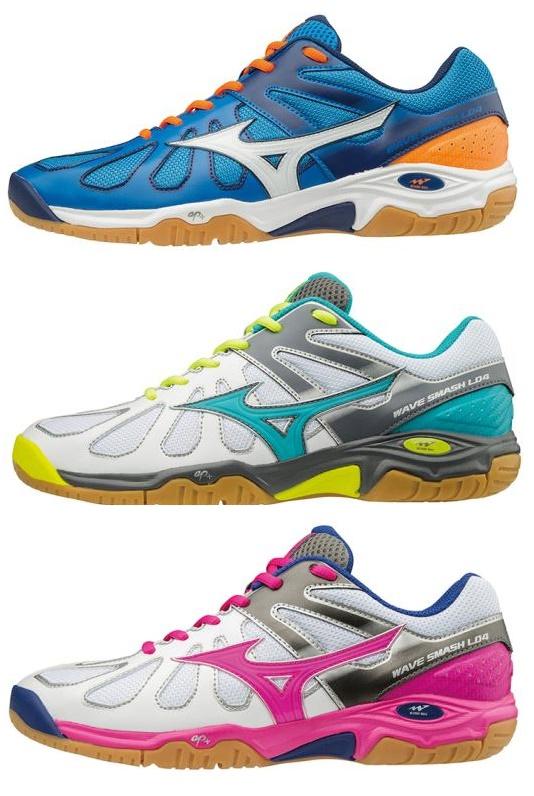 latest mizuno badminton shoes