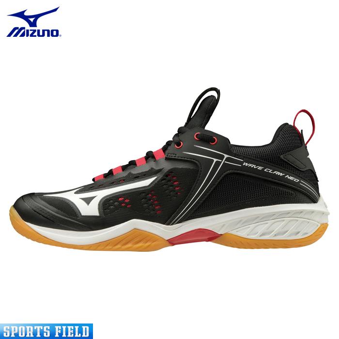バドミントンシューズ ミズノ MIZUNO ウエーブクロー NEO 71GA2070 WAVE CLAW NEO【ミズノ シューズ ミズノ バドミントン シューズ バトミントンシューズ 室内シューズ 体育館シューズ 靴 軽量 badminton shoes】