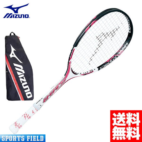 【ガット代・張り代・送料すべて無料】ミズノ MIZUNO ソフトテニスラケット Deep Impact S-100 (ディープインパクトS-100) (63JTN46164)【後衛】【テニス ソフトテニス ラケット 後衛 ミズノ テニスラケット 軟式テニスラケット ミズノ 送料無料】ガット代張り代込