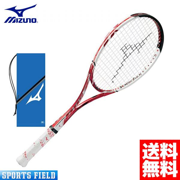 【ガット代・張り代・送料全て無料】ミズノ MIZUNO ソフトテニスラケット Deep Impact Z-500(ディープインパクトZ-500)(63JTN67062)【後衛用】【ミズノ ソフトテニス ラケット ミズノ 後衛 軟式テニスラケット ミズノ TENNIS】送料無料 ケース付き ガット代張り代込
