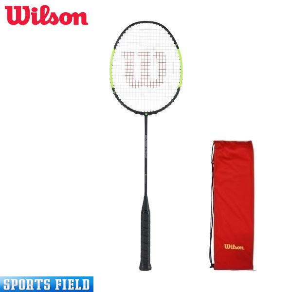 【ガット張上済】Wilson ウイルソン バドミントンラケット BLAZE S PLUS ウィルソン バドミントン ラケット ブレイズSプラス初心者向き 新入部員 バドミントン ラケット 初心者 ウィルソン ラケットケース セット バトミントン ラケット badminton racket 羽毛球拍